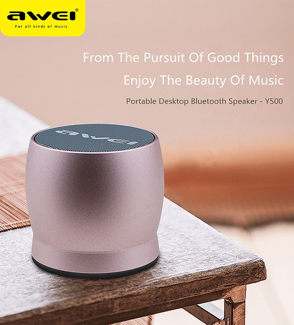 Awei Y500 Mini Bluetooth Speaker (4)