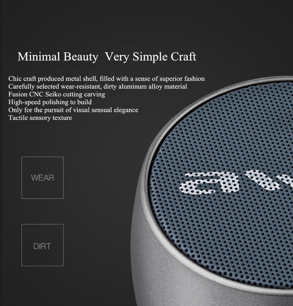 Awei Y500 Mini Bluetooth Speaker (5)