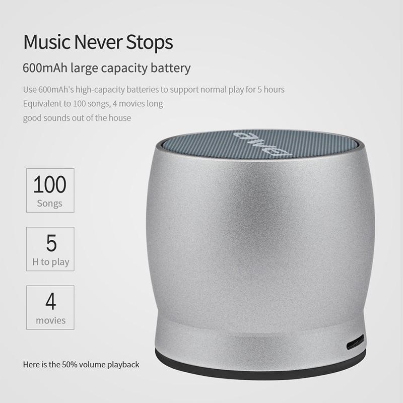 Awei Y500 Mini Bluetooth Speaker (5)