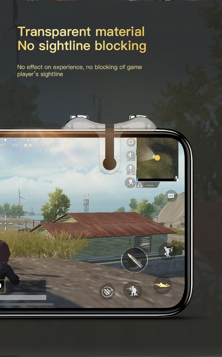 Baseus G9 Pubg Game Shooting Trigger Controllers (2)