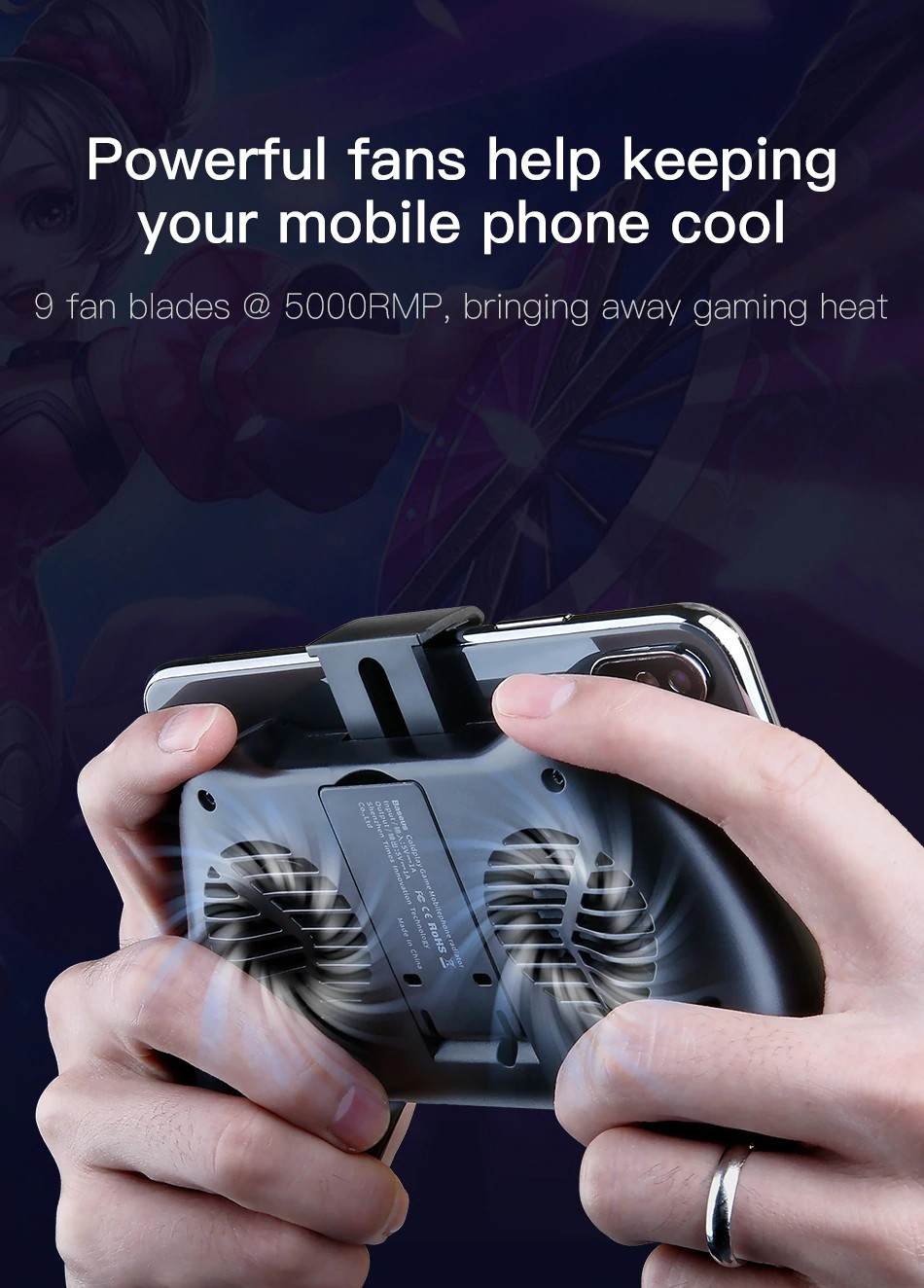 Baseus Mobile Phone Cooler Gamepad (13)