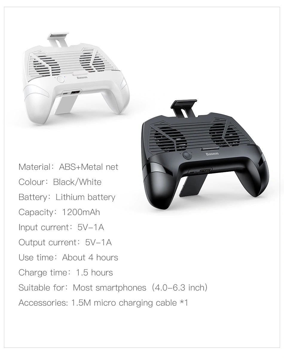 Baseus Mobile Phone Cooler Gamepad (15)