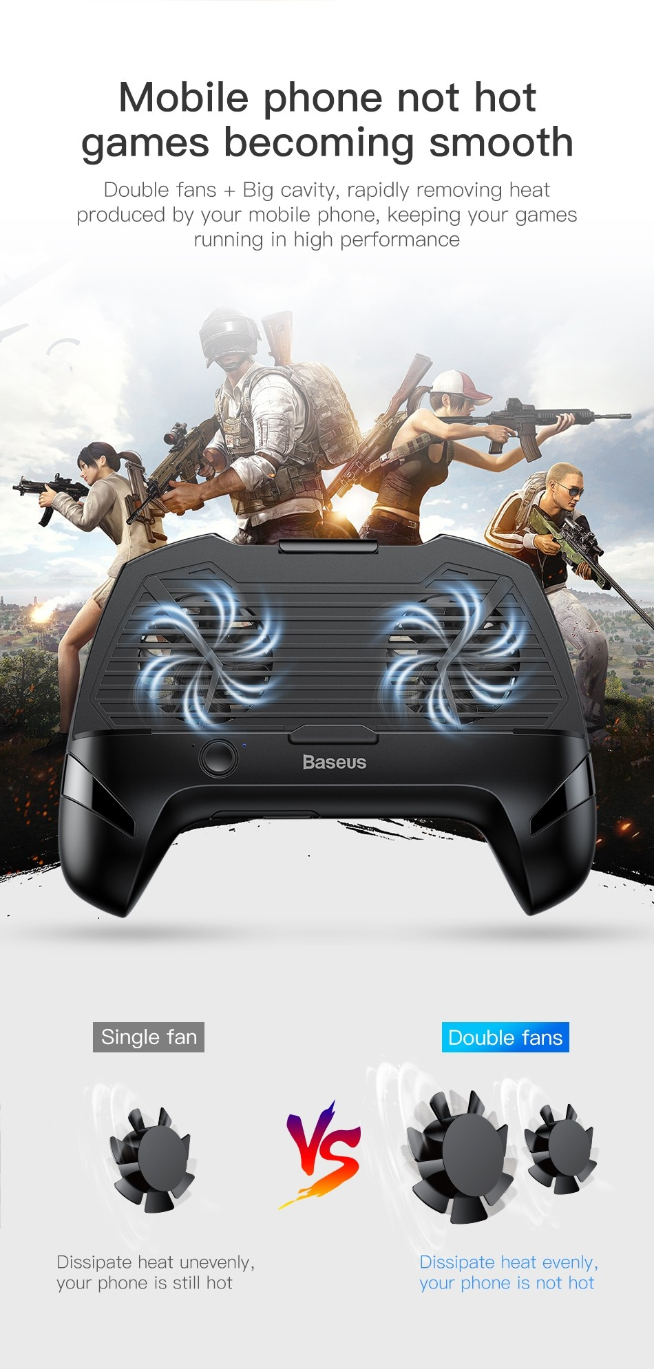 Baseus Mobile Phone Cooler Gamepad (17)