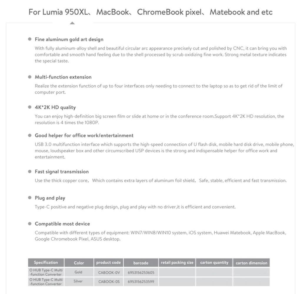 Baseus O Hub Type C Male To Hdmi (10)