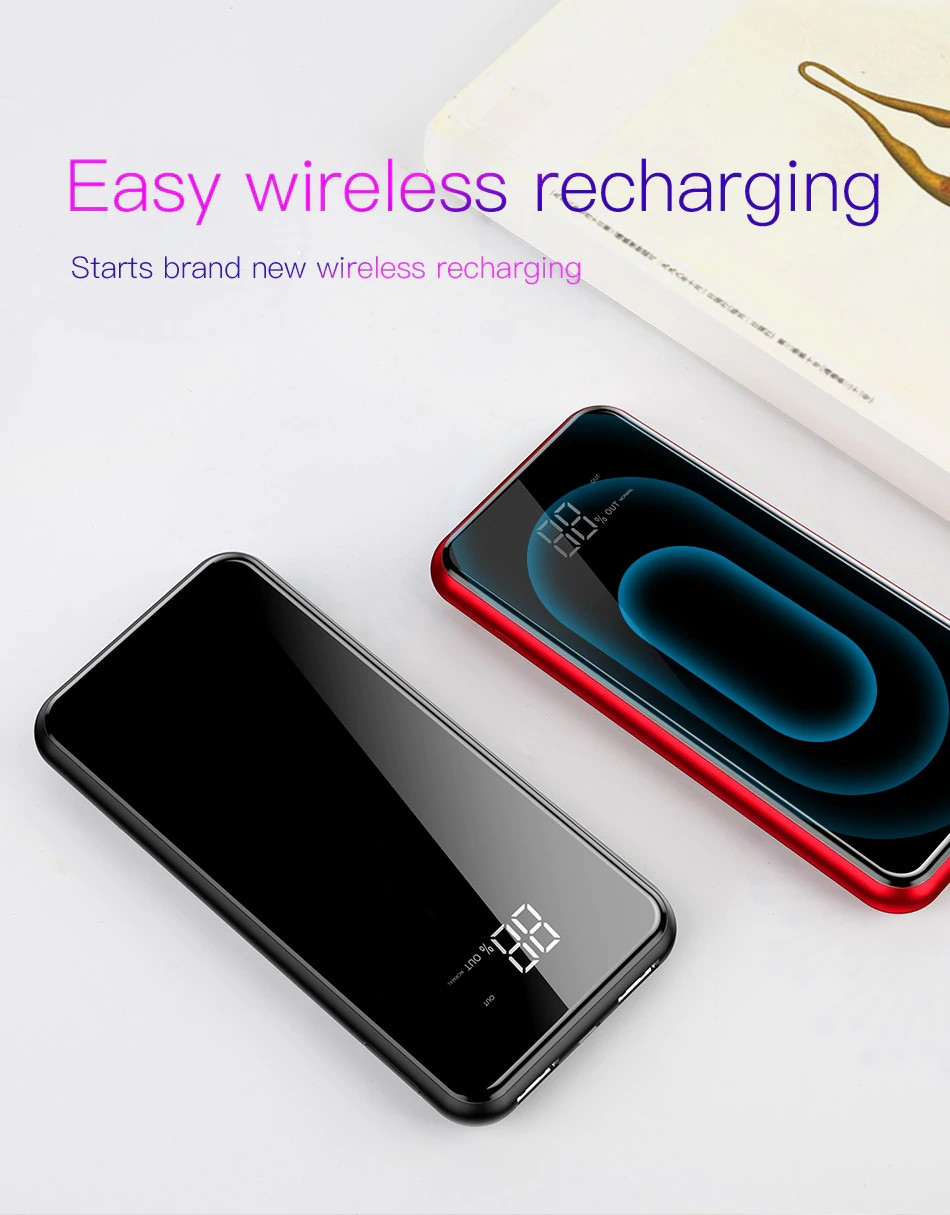 Baseus Q2 Wireless Charger With Power Bank (9)