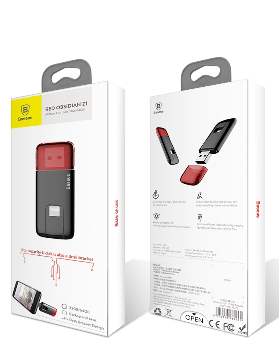Baseus Usb Flash Drive Otg Pen Drive (5)
