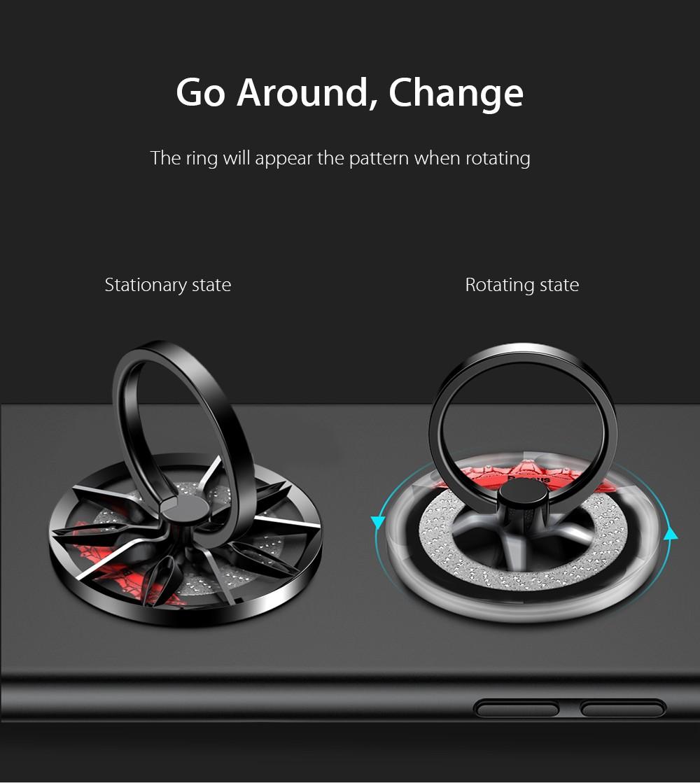 Baseus Wheel Ring Bracket Finger Grip Phone Holder (1)