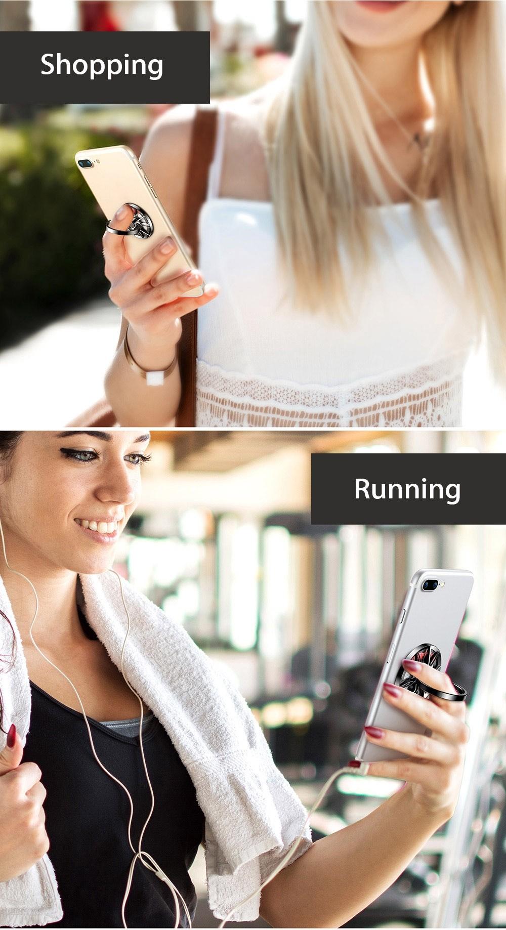Baseus Wheel Ring Bracket Finger Grip Phone Holder (2)