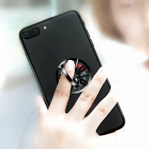 Baseus Wheel Ring Bracket Finger Grip Phone Holder (3)