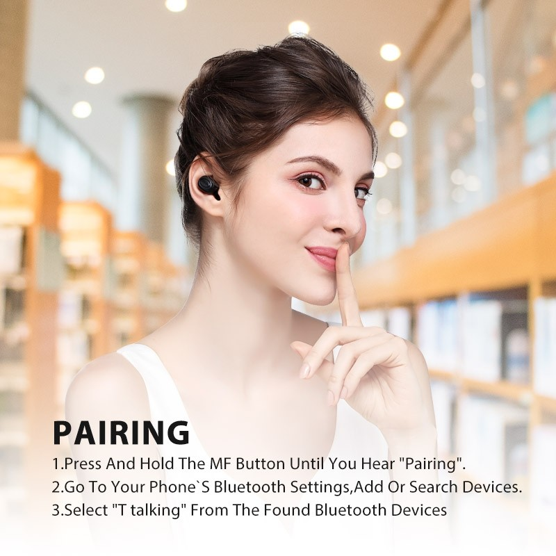 Bluedio T Talking Mini Bluetooth Single Wireless Earbud (4)