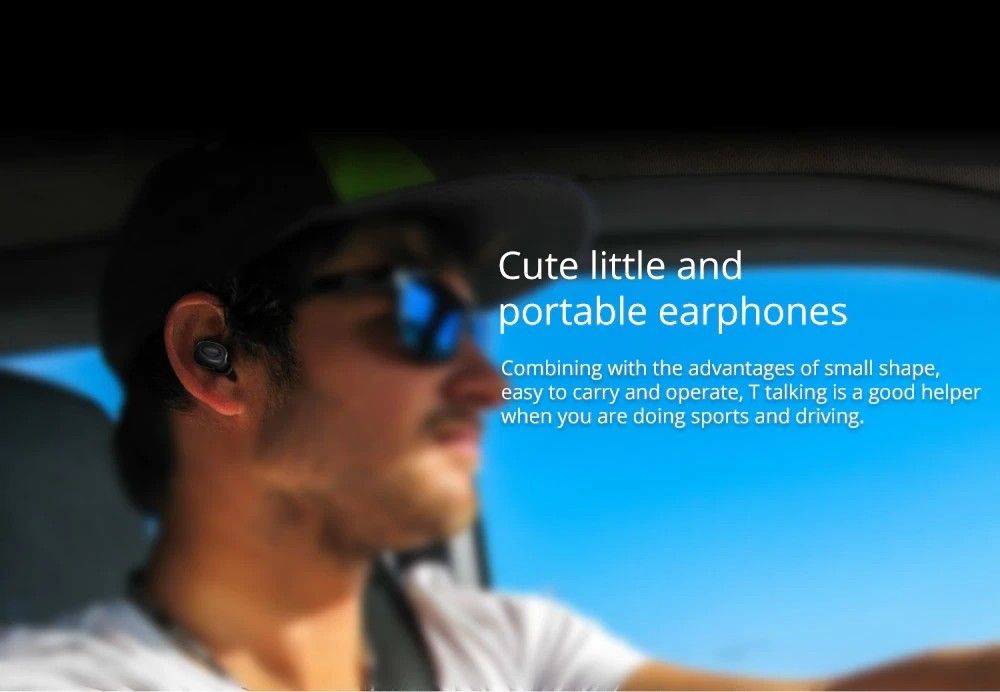 Bluedio T Talking Mini Bluetooth Single Wireless Earbud (6)