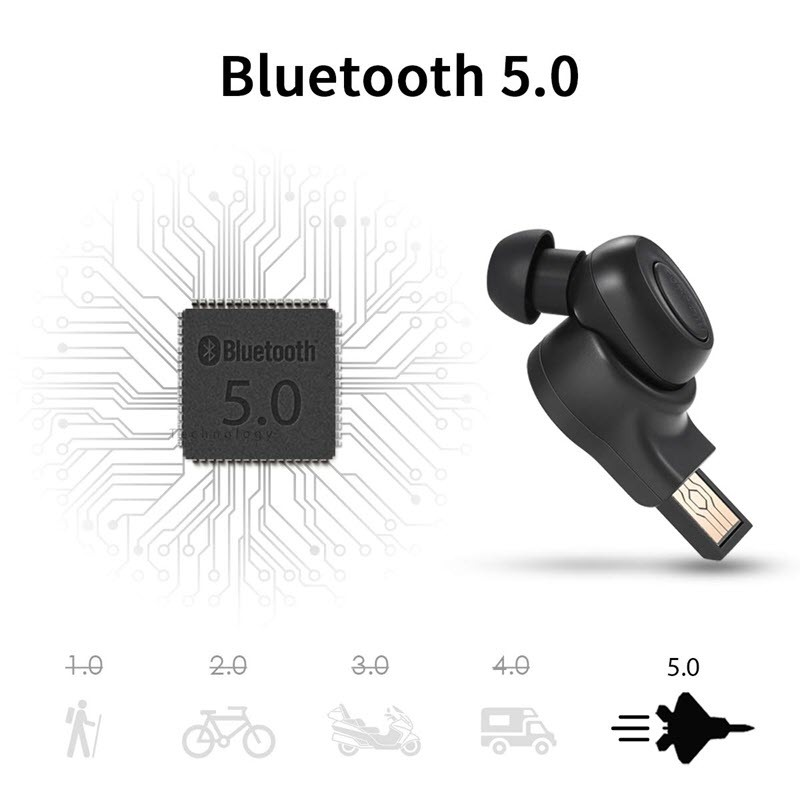 Bluedio T Talking Mini Bluetooth Single Wireless Earbud (9)
