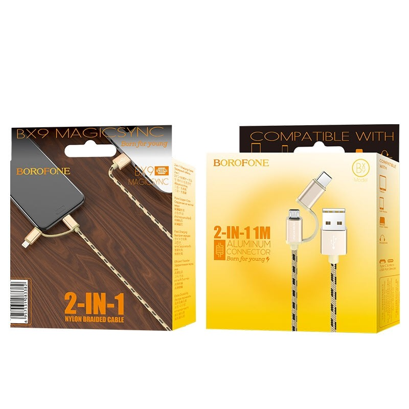 Bx9 Magicsync Usb Cable Type Cmicro 2 In 1 (5)