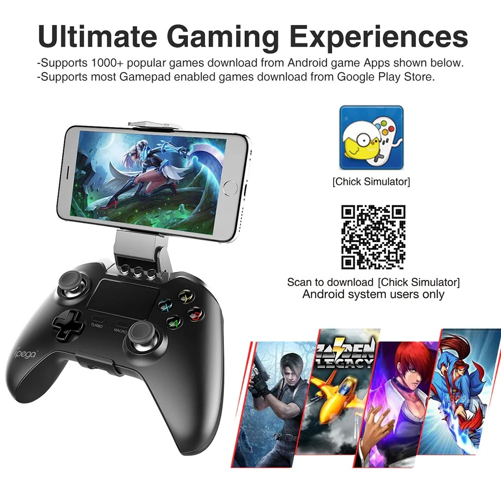 Ipega 9069 Wireless Controller With Touch Pad (7)
