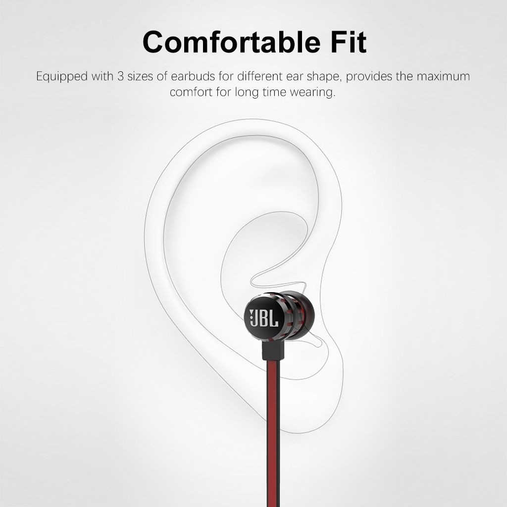 Jbl T190a Stereo In Ear Earphones (11)