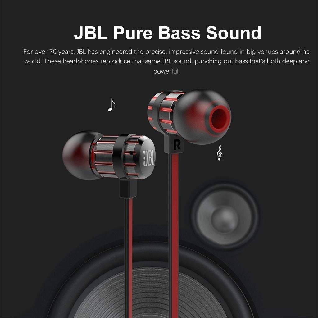 Jbl T190a Stereo In Ear Earphones (9)