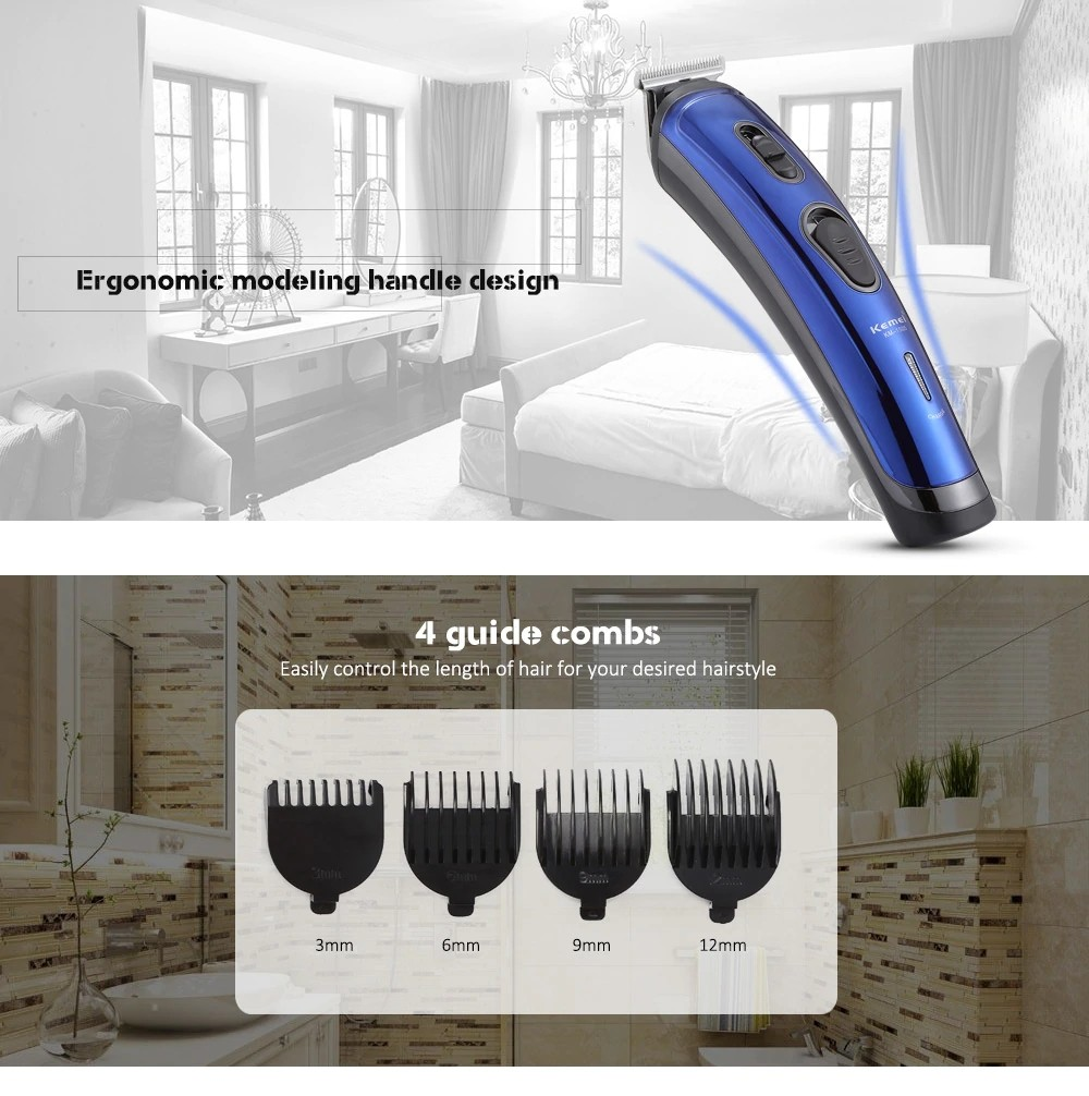 Kemei Km 1505 Professional Upgrade Power Hair Clipper (4)