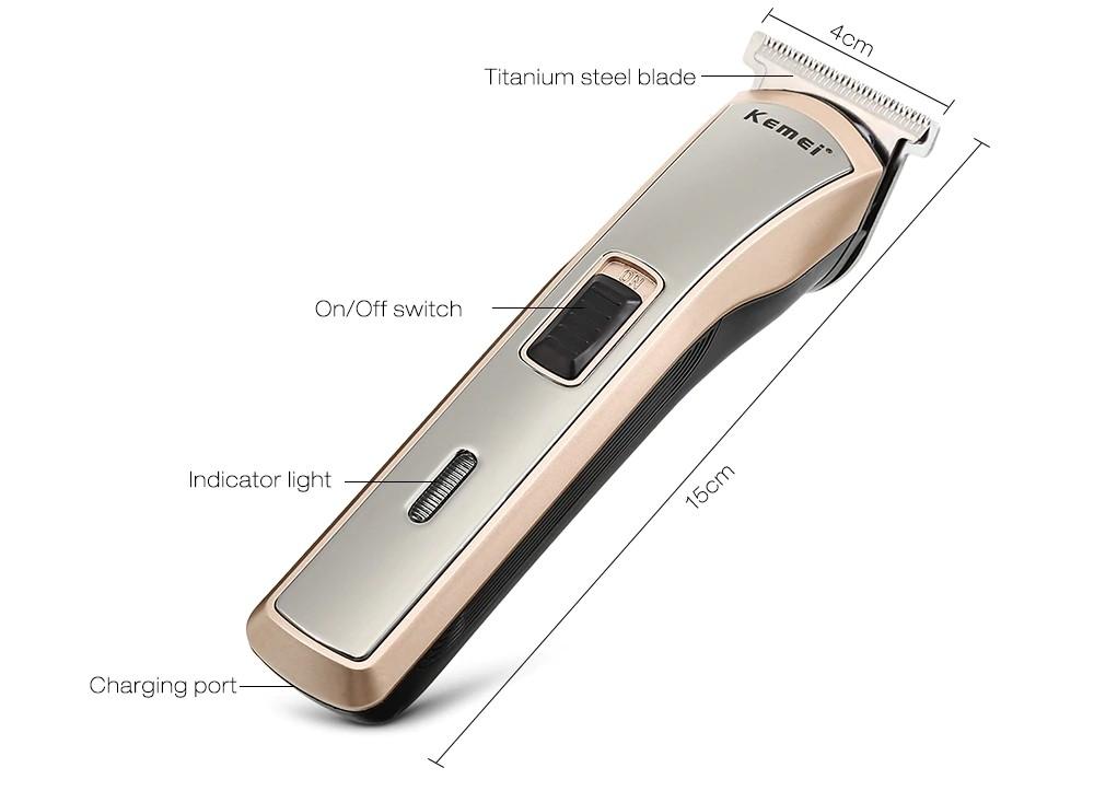 Kemei Km 418 Professional Beard Hair Trimmer (1)