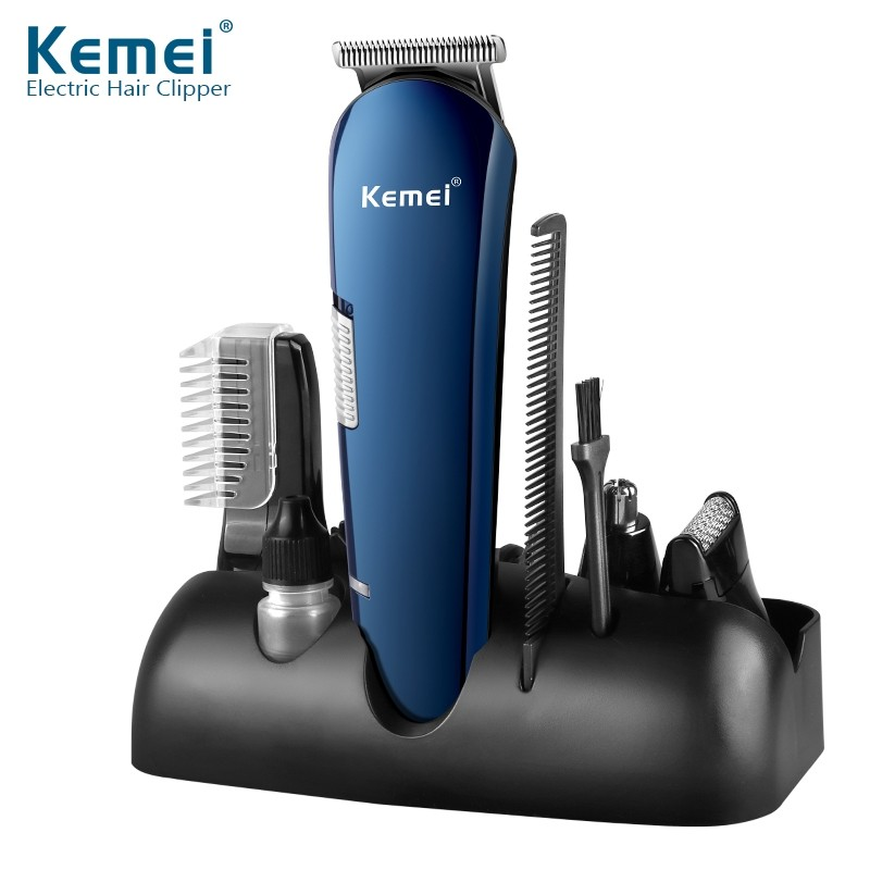 Kemei Km 550 5 In 1 Rechargeable Hair Trimmer (6)