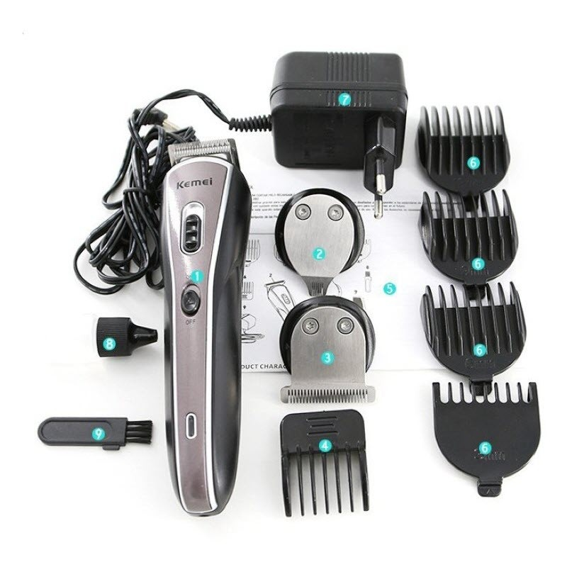 Kemei Km 570a Cordless Trimmer For Men (5)