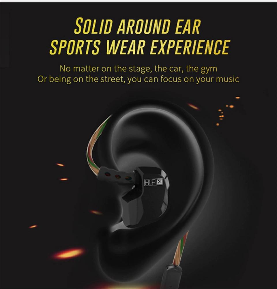 Kz Hd9 Earphones Hifi Sport Earbuds (3)