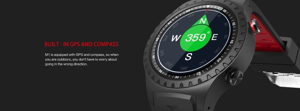 Lemfo M1 Smart Watch Support Sim (2)