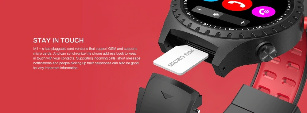 Lemfo M1 Smart Watch Support Sim (3)