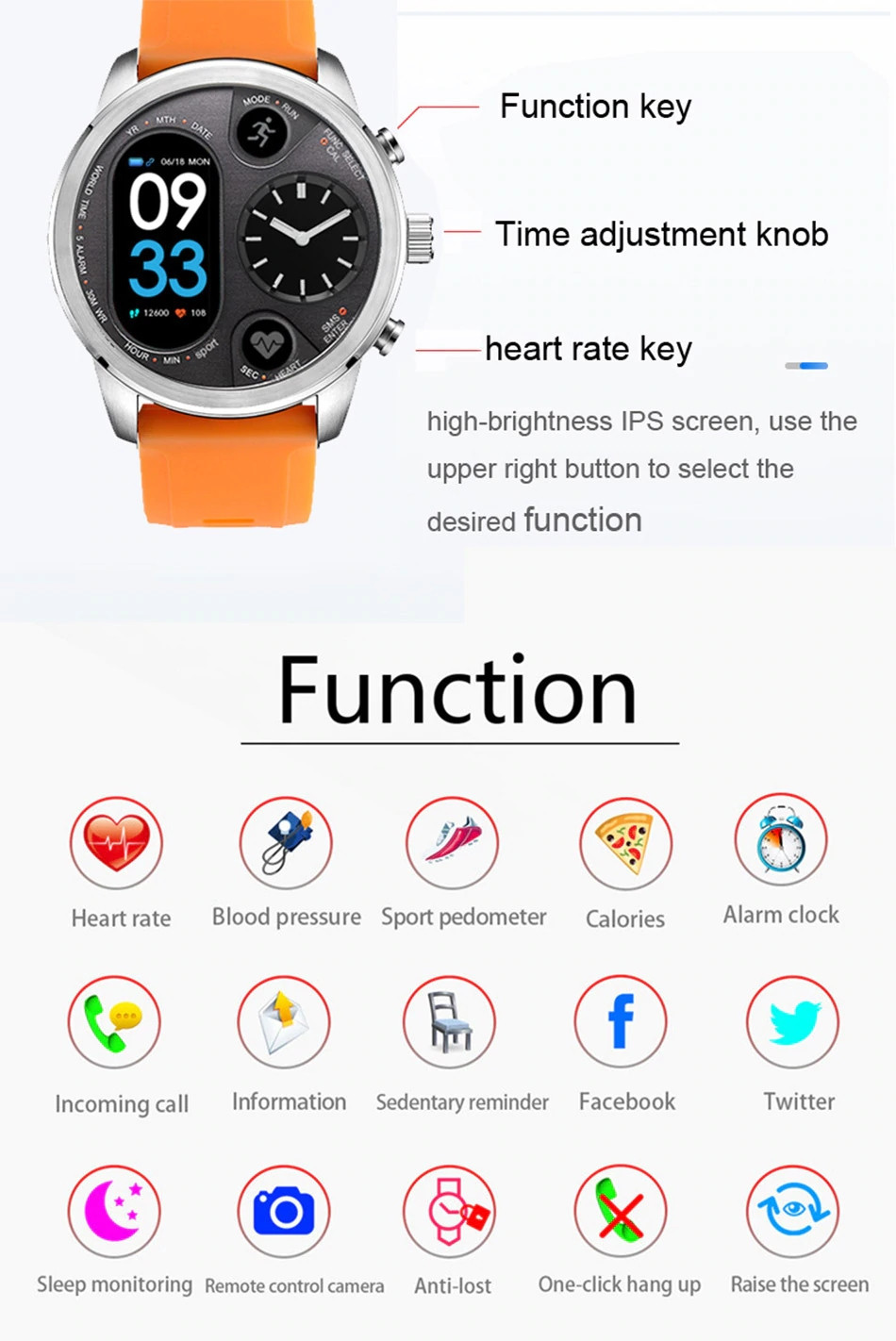 Lemfo T3 Sport Smart Watch (8)