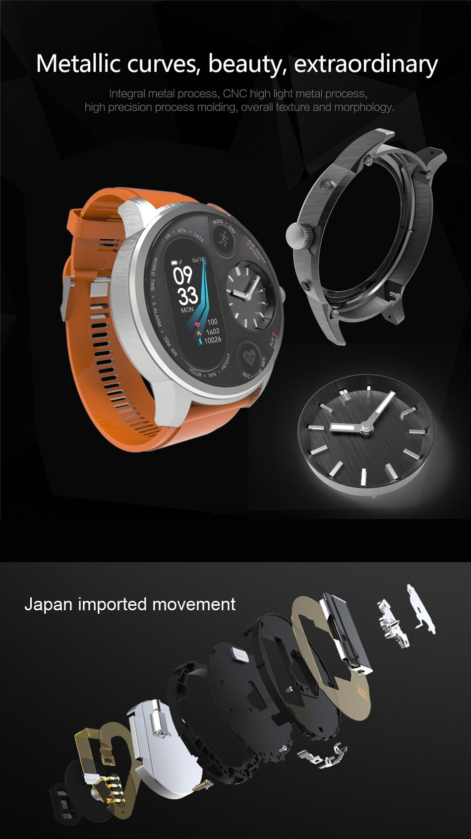 Lemfo T3 Sport Smart Watch (9)