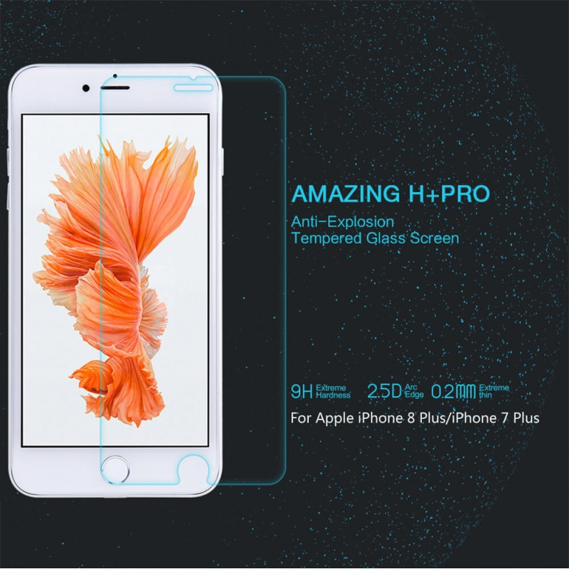 Nillkin Amazing H Pro Tempered Glass Screen Protector For Apple Iphone 8 Plus 7 Plus (3)