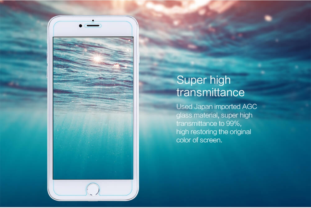 Nillkin Amazing H Pro Tempered Glass Screen Protector For Apple Iphone 8 Plus 7 Plus (6)