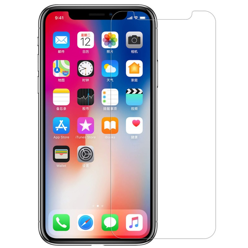 Nillkin Amazing H Pro Tempered Glass Screen Protector For Apple Iphone Xs Iphone X (2)