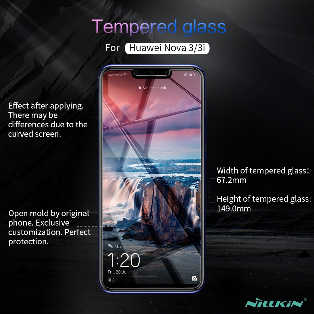 Nillkin Amazing H Pro Tempered Glass Screen Protector For Huawei Nova 3i (2)