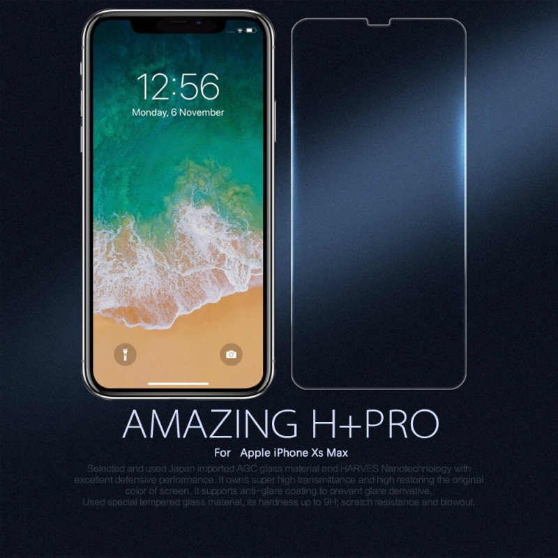 Nillkin Amazing H Pro Tempered Glass Screen Protector For Iphone Xs Max (1)