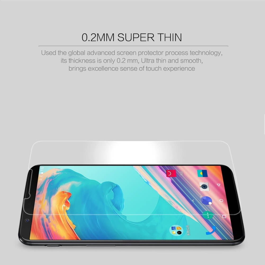 Nillkin Amazing H Pro Tempered Glass Screen Protector For Oneplus 5t (2)