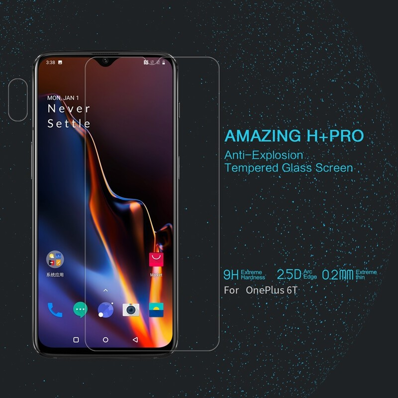 Nillkin Amazing H Pro Tempered Glass Screen Protector For Oneplus 6t (1)