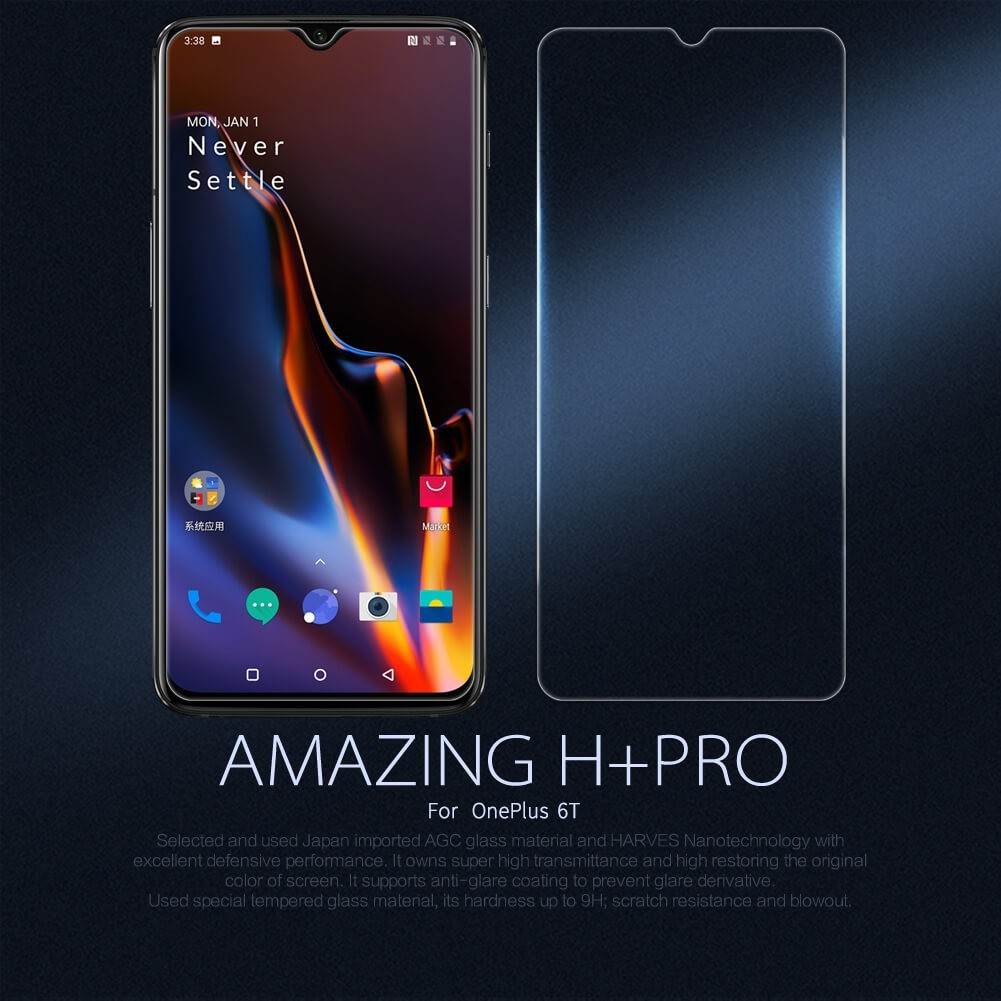 Nillkin Amazing H Pro Tempered Glass Screen Protector For Oneplus 6t (10)