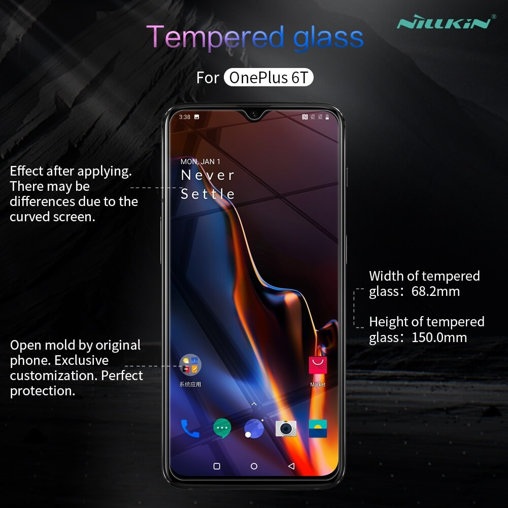 Nillkin Amazing H Pro Tempered Glass Screen Protector For Oneplus 6t (8)