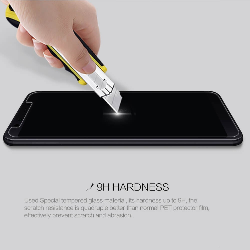 Nillkin Amazing H Pro Tempered Glass Screen Protector For Xiaomi Mi 6x Xiaomi Mi A2 (7)