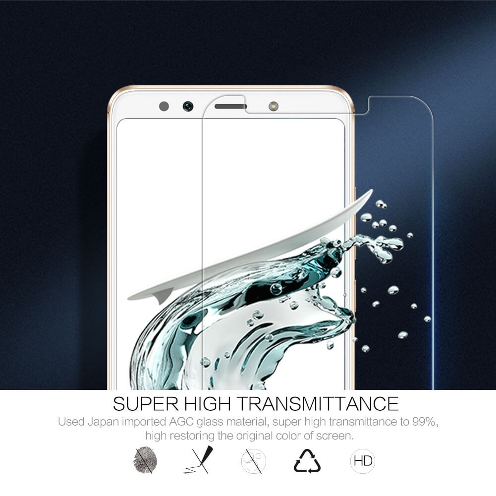 Nillkin Amazing H Pro Tempered Glass Screen Protector For Xiaomi Mi 6x Xiaomi Mi A2 (8)