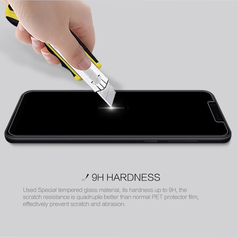 Nillkin Amazing H Pro Tempered Glass Screen Protector For Xiaomi Mi8 (4)
