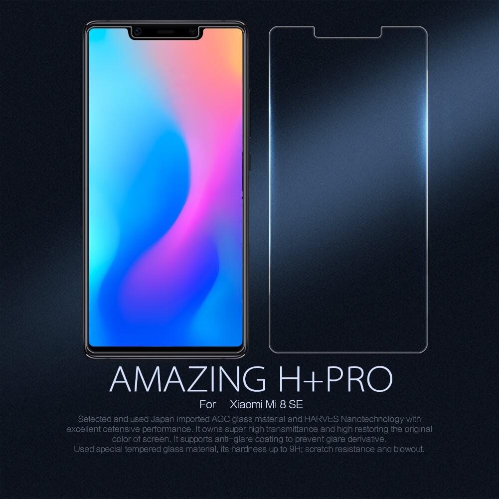 Nillkin Amazing H Pro Tempered Glass Screen Protector For Xiaomi Mi8 Se (1)