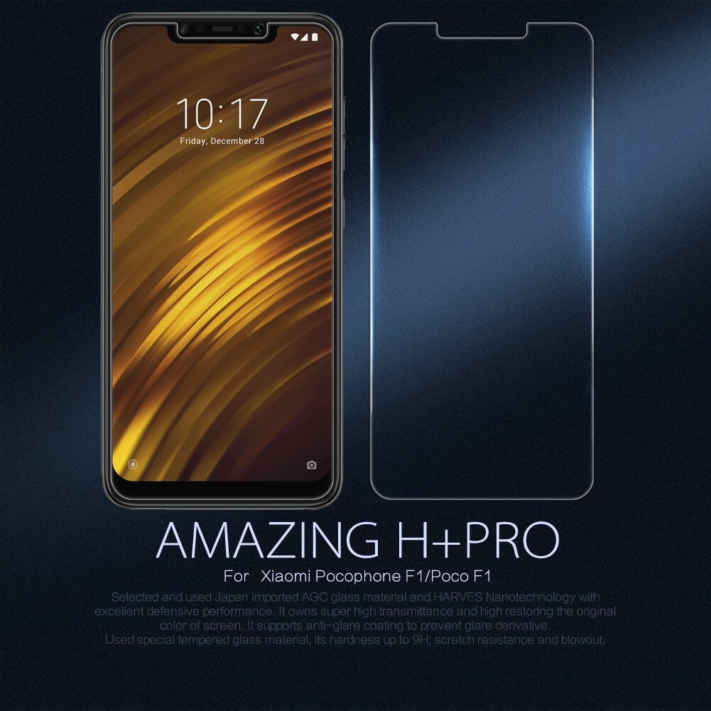 Nillkin Amazing H Pro Tempered Glass Screen Protector For Xiaomi Pocophone F1 (11)