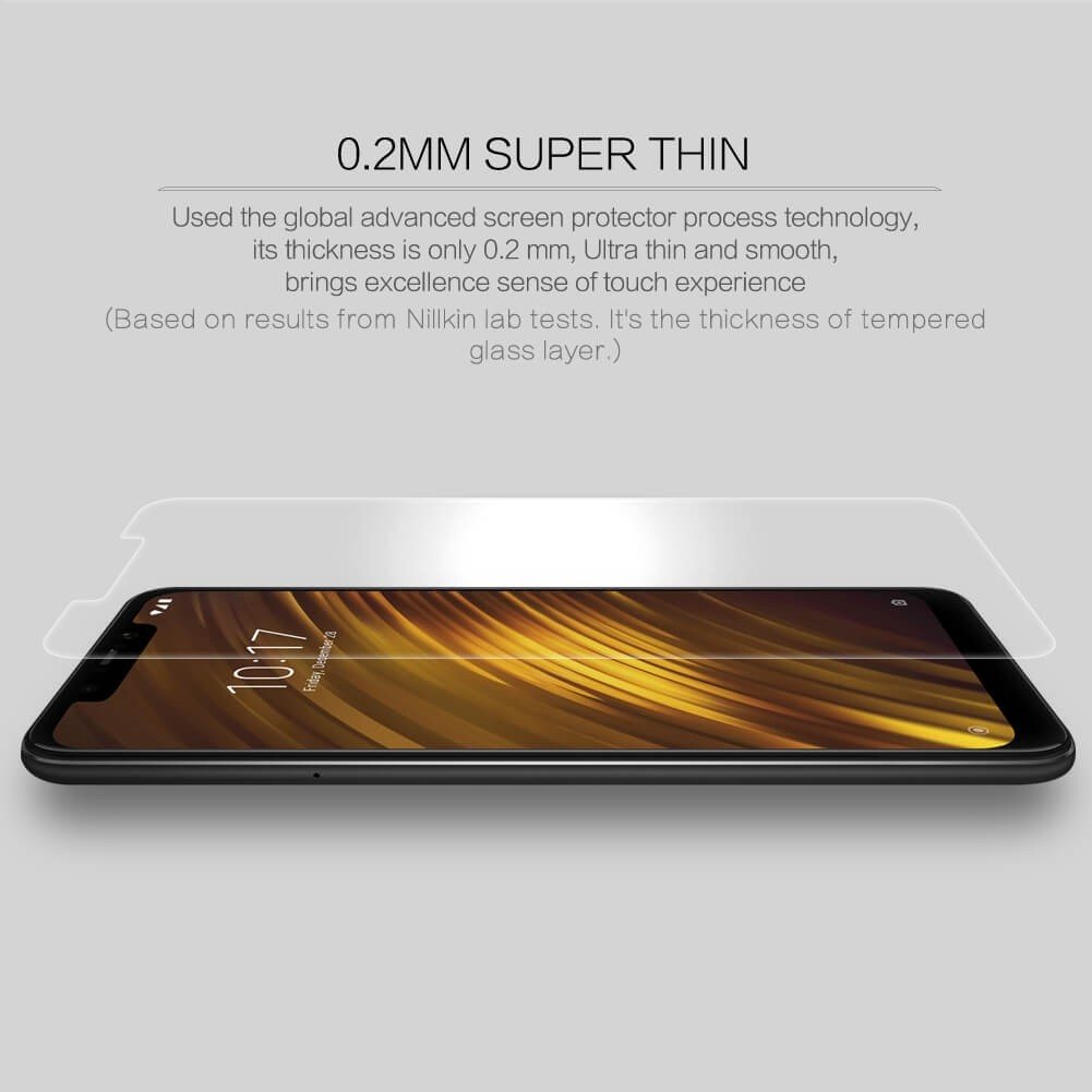 Nillkin Amazing H Pro Tempered Glass Screen Protector For Xiaomi Pocophone F1 (12)