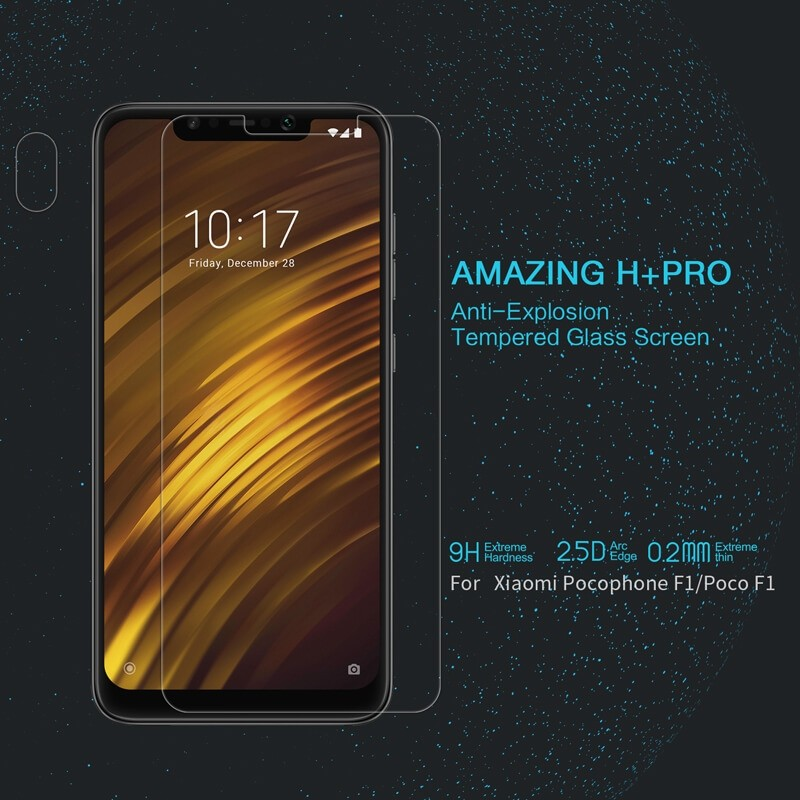 Nillkin Amazing H Pro Tempered Glass Screen Protector For Xiaomi Pocophone F1 (6)