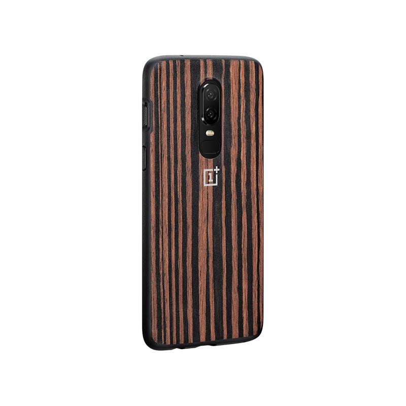 Oneplus 6 Ebony Wood Bumper Case (6)