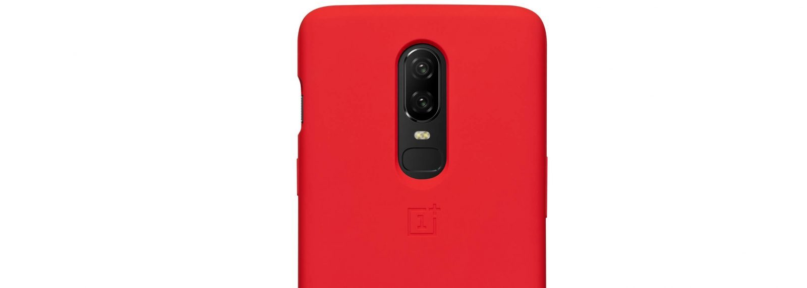 Oneplus 6 Silicone Protective Case Red (7)