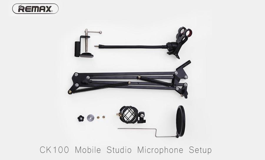 Remax Ck 100 Mobile Recording Studio (8)