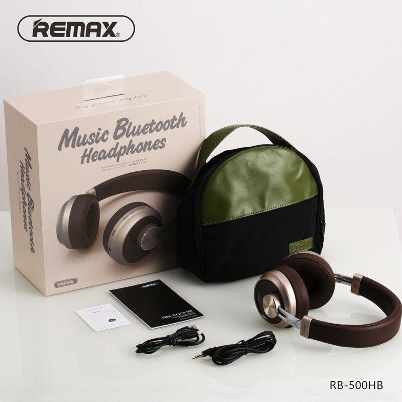 Remax Rb 500hb Bluetooth Headphone (1)