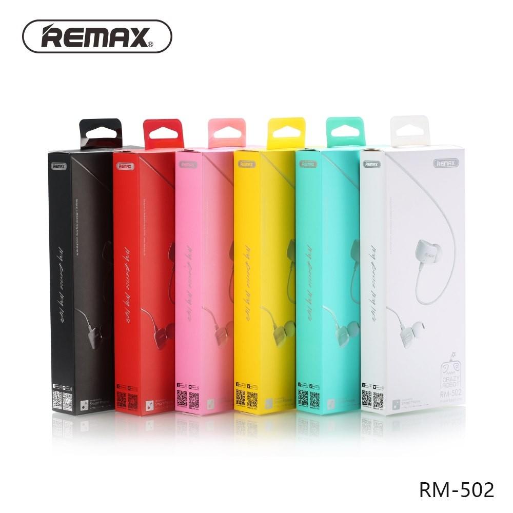 Remax Rm 502 Crazy Robot In Ear Earphone (5)